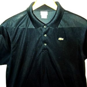 Lacoste Sport Navy Polo Shirt Size 6